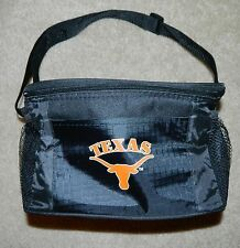 KOLDER University of Texas Longhorns Insulated 6 Pack Lunch Tote/Can Cooler~NWT