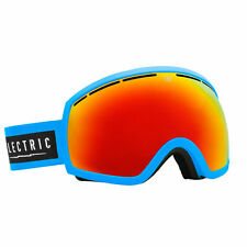new ELECTRIC EG2 snow goggles CODE BLUE/BRONZE-RED CHROME + BONUS LENS ski eg3