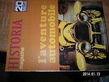 Historia magazine n°98 Guerre des Boers L'aventure automobile / Etats Unis