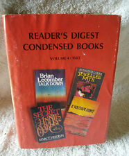 READER'S DIGEST CONDENSED BOOKS , VOLUME 4 , 1983,HEIDISH, LECOMBER, LAKER, LANE