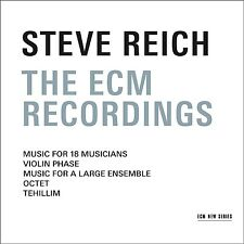 STEVE REICH - THE ECM RECORDINGS  REICH,STEVE - BOX-SET 3 CD NEU
