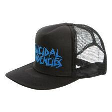 Suicidal Tendencies Trucker Hat Flip Up Cap Logo Under Bill / Blue Lettering