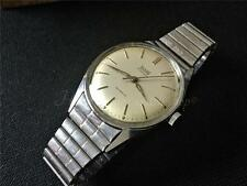 Great fully working ALL STEEL vintage winding watch ACTOS SERVICED A SCHILD C60