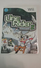 LINE RIDER UNBOUND 2 NINTENDO WII VIDEO GAME