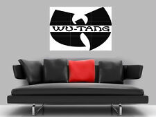 "WU TANG CLAN BORDERLESS MOSAIC TILE WALL POSTER 35"" x 25"" HIP HOP"