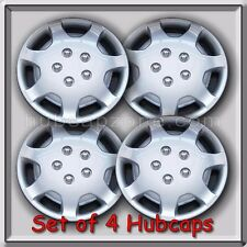 """Set of 4 14"""" Silver Toyota Camry Hubcaps 1991-1994 Replica Camry Wheel Covers"""