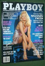 Playboy Jan 1998 Heather Kozar Shannon Tweed Bettie Page Grant Hill interview