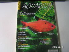 **a Aquarium Magazine n°160 Le rubis du Paraguay / Les merveilles des Malawi