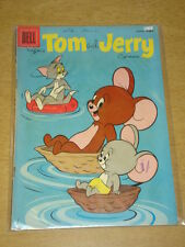 TOM AND JERRY COMICS #169 VG (4.0) DELL COMICS AUGUST 1958
