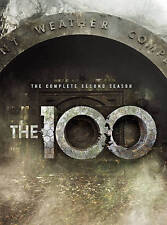 The 100: The Complete Second Season 2 Two (DVD, 2015, 4-Disc Set) NEW