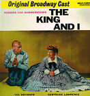 Rodgers And Hammerstein's THE KING AND I Original Broadway Cast LP EMI UK @Exclt