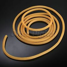 6x 9mm Natural Latex Rubber Band Surgical Tube for Slingshot Catapult Elastic 3M