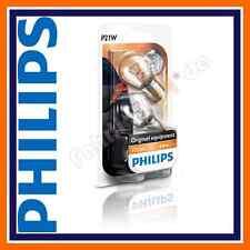 2x Original Philips Premium Vision P21W 12498B2 12V 21W BA15s Signallampen Auto