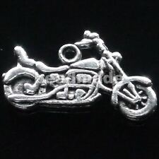 free ship 45pcs tibet silver MOTORCYCLE charms 25x14mm
