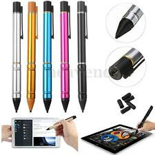 Ultra Fine 2.3mm Tip Active Stylus Drawing Pen for Apple iPad Android Tablet PC