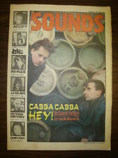 SOUNDS 1984 JAN 28 CABARET VOLTAIRE RE FLEX QUIET RIOT