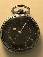 Hamilton Military 4992B 16S 22J GCT WWII Navigational Pocket Watch Very Accurate