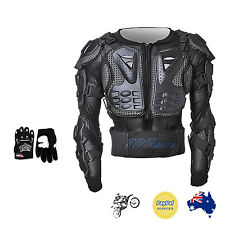 KID/JUNIOR/BOY/GIRL BODY ARMOUR + MX GLOVE Motorcycle/Motocross/Bike/Sports/Game