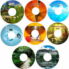 Peace & Harmony Relaxation Music 8 CD Collection Healing Stress Relief Sleep Aid