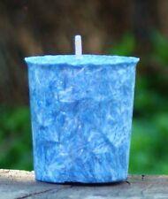 EUCALYPTUS BLUE GUM & CITRONELLA VOTIVE Summer Candle 18Hr PINK INSECT REPELLENT