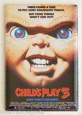 Child's Play 3 FRIDGE MAGNET (2 x 3 inches) movie poster chucky doll