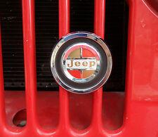 Jeepster, Jeep CJ, Jeep Gladiator truck, Jeep J Series , Wagoneer Grill Badge
