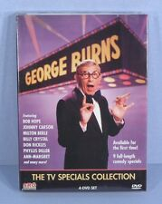 * George Burns TV Specials Collection 4-DVD + Bob Hope Carson Berle Diller NEW *