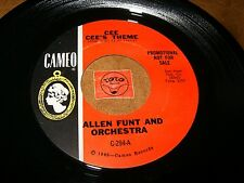 ALLEN FUNT AND ORCH - CEE CEE'S THEME - THEME FROM THE YOUNG  / LISTEN - POPCORN