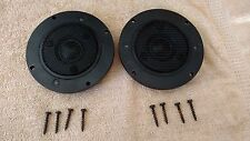 PAIR Yamaha NS-6 NS6 tweeter Model # T618 T-618 Excellent working condition