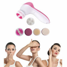 NEW 5-1 Multifunction Electric Face Facial Cleansing Brush Spa Skin massage EA