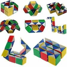 Snake Magic 3D Cube Game Puzzle Twist Toy Party Travel Family Child Gift KT