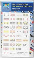 Trumpeter WWII Signal Flags in 1/200 6630 ST