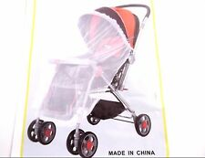 ZIKA MOSQUITO INSECT PROTECTION NET MESH SLIPS OVER BABY STROLLER BASSINET