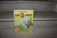 benjamin rabier / les 3 amis (garnier, 1952)