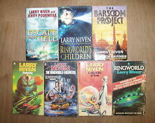 * 7 BRILLIANT EXCITING NOVELS by LARRY NIVEN * UK POST £3.25* PAPERBACKS *