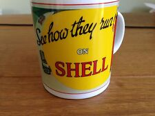 Shell Retro Posters Mug 'See How they Run' Magic of Motoring Offical Merchandise