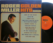 """Roger Miller - Golden Hits  (Smash 67073) (4 pics on the BC) """"King of the Road"""""""