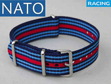 NATO 20mm MARTINIracing ( watch reloj orologio strap montre correa cinturino )
