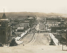 Newcastle Wyoming WY circus in town c. 1910 photo CHOICES 5x7 or request 8x10 or