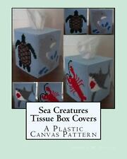 Sea Creatures Tissue Box Covers : A Plastic Canvas Pattern by Angela M....