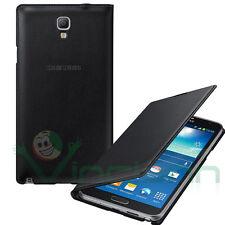 Custodia FLIP WALLET Nera originale Samsung pr Galaxy Note 3 Neo N750 cover case