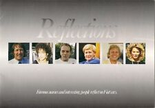 Fiat Reflections Celebrity Tests 1987 UK Market Brochure Panda Uno Regata Croma