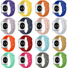 NEW iwatch Bands Sports Silicone Bracelet Strap Band For Apple Watch 38mm/42mm