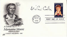 ALISTAIRE COOKE (1908-2004) hand signed autographed 1990 FDC  British Journalist