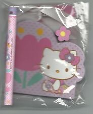 Sanrio Hello Kitty Notepad Set With Pencil Eraser Notepad Tulip