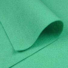 """9 """"x18"""" Hoja de menta Fieltro De Lana Tejido / Quilting Juguete Muñeca haciendo verde pálido Jade"""