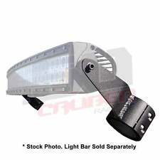 "Can-Am Commander Maverick Clamp-on Roll Cage LED 50"" Light Bar Brackets USA Made"