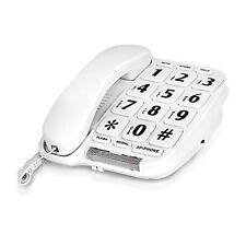 Big Button Phone for wall or desk with Speaker and Memory, New, Free Shipping