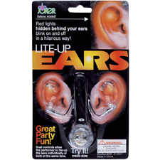 Light Up Ear Lights - Jokes, Gags and Pranks - Lite-Up Ears - Great Party Fun!