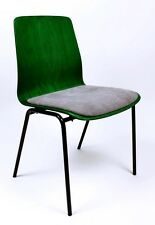VINTAGE  MID CENTURY 1960'  GERMAN   PLYWOOD CHAIR BY HILLER GERMANY